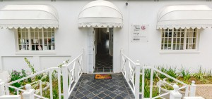 entrance to the clinic